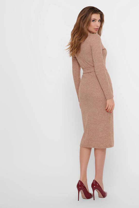 Теплое шерстяное платье футляр, фото 2