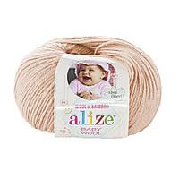 Alize Baby wool  - 382 пудра
