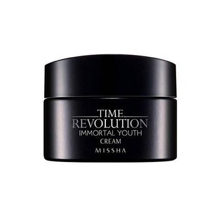 Омолаживающий питательный крем для лица Missha Time Revolution Immortal Youth Cream, 50 мл, фото 2