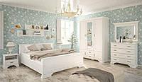 Спальня комплект-2 Ирис 160х200 Андерсон пайн Мебель Сервис