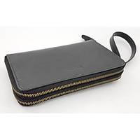 Мужской черный клатч из натуральной кожи VATTO MK82 KR670