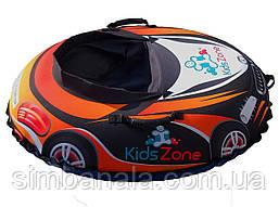 """Детский надувной тюбинг в форме машины D-100 """"RacingСars""""(оранжевый), Украина"""