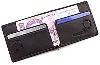 Кожаный зажим для денег и карточек на магните ST