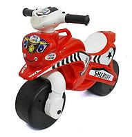 Детский толокар мотоцикл.Мотобайк детский мотоцикл с звуковыми и световыми эффектами.