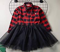 Платье для девочки Breeze Рубашка, двухнитка (р.116,134)