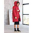 Женское зимнее пальто  с капюшоном, фото 6
