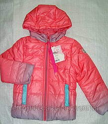 Куртка демисезонная  для девочки (цвет омбре)