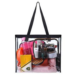 Прозрачные косметички и сумочки