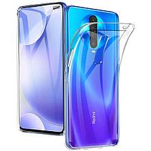 TPU чехол Epic Transparent 1,0mm для Xiaomi Redmi K30