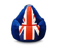 """Кресло мешок PufOn, """"Британский флаг"""" Оксфорд ХХХL"""