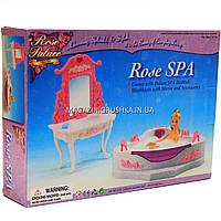 Детская игрушечная мебель Глория Gloria для кукол Барби Ванная 2613. Обустройте кукольный домик