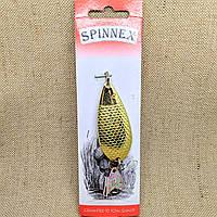 Блесна Spinnex Lady 18g золото
