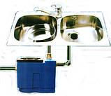 Сепаратор жира, 0.5л/с, DG 501e,жироуловитель, сепаратор жира  под мойку, Эколайн, фото 7