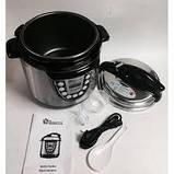 Мультиварка-скороварка DOMOTEC MS 5501,9 програм,6 литров 1000 Вт, фото 2