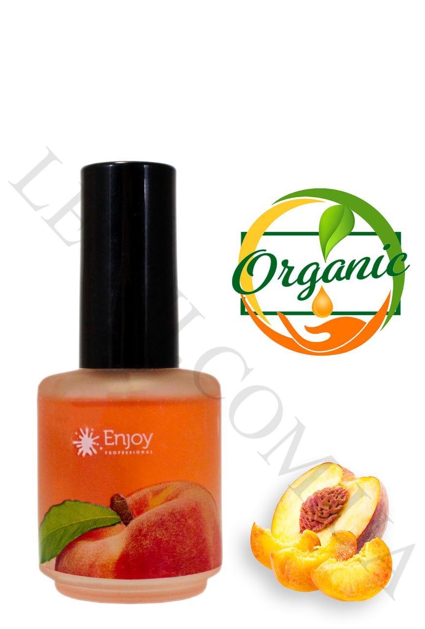 "Масло для кутикулы Enjoy c ароматом Персикa "" Orange Cuticle oil ""  15мл."
