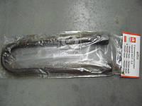 Стремянка рессоры задней МАЗ М27х2,0 (кованная с высок.гайкой и гров,L=415)  полуприцепа  , 8378-2912408