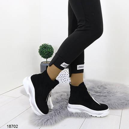 Ботинки на платформе женские, фото 2