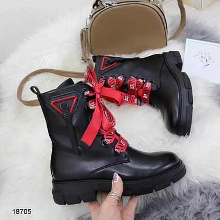 Ботинки на небольшом каблуке, фото 2