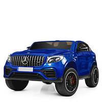 Электромобиль Mercedes M 4177EBLRS-4 синий крашенный, фото 1