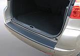 Пластиковая защитная накладка на задний бампер для Citroën C4 Picasso 2006-2013, фото 3