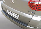 Пластиковая защитная накладка на задний бампер для Citroën C4 Picasso 2006-2013, фото 4