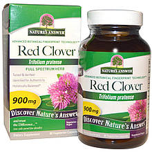 "Красный клевер Nature's Answer ""Red Clover"" 900 мг (90 капсул)"