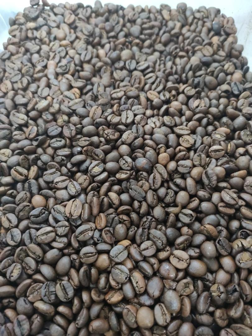 Кофе робуста в зернах Уганда Scr 18 1кг