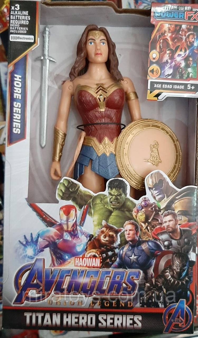 ✅Фигурка Чудо-женщина 29 см. Супергерои Марвел