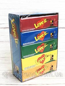 Жевательные конфеты Love Is - новые вкладыши, любимые вкусы