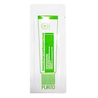 Восстанавливающий крем с экстрактом центеллы азиатской пробник PURITO Centella Green Level Recovery Cream 1мл