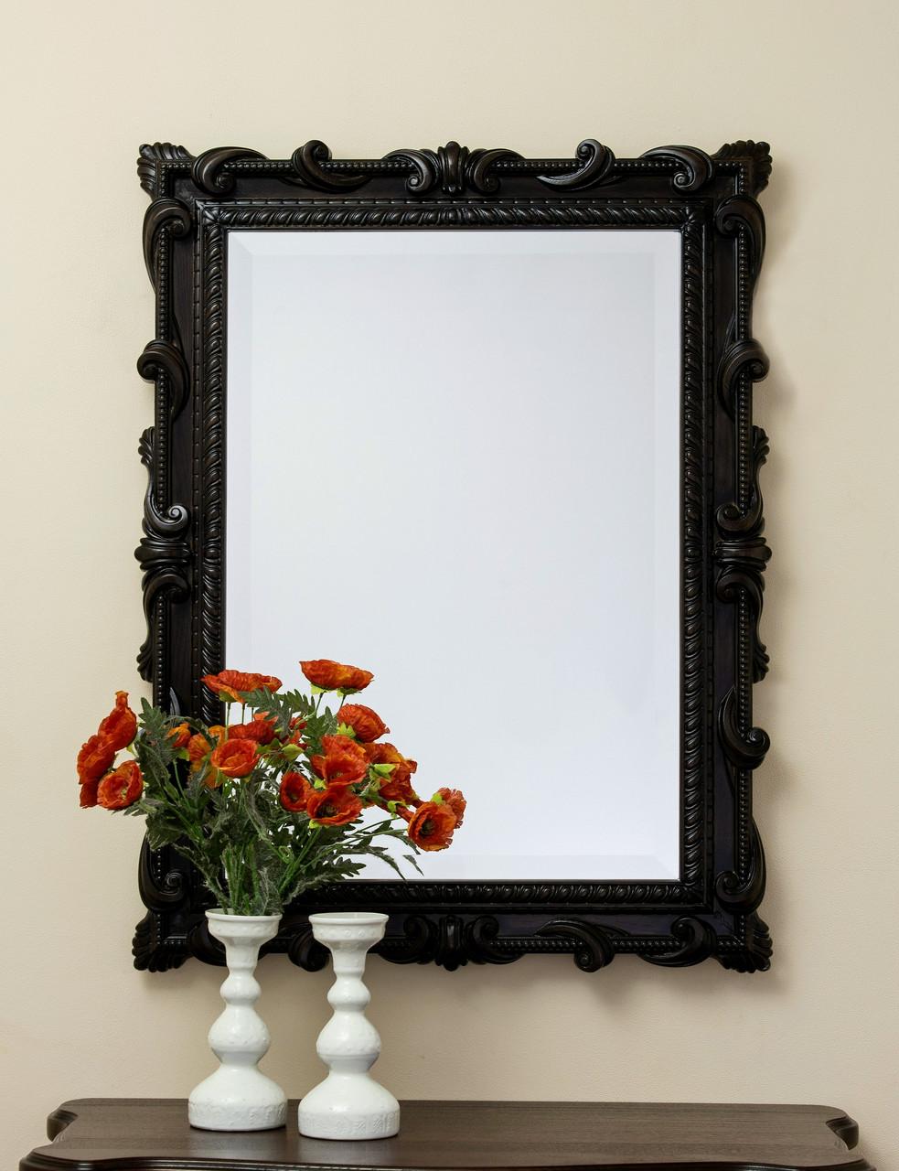 Код М-002.1. Зеркало в деревянной резной раме