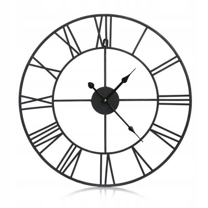 Часы настенные металлические в стиле ретро  - Vintage 50