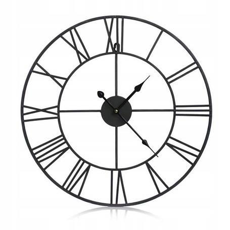 Часы настенные металлические в стиле ретро  - Vintage 50, фото 2