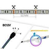 Светодиодная лента Professional 12v 5м 5050-60 IP20 RGB, фото 4