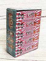 Жевательные конфеты L.O.L. - новые вкладыши клубника-арбуз