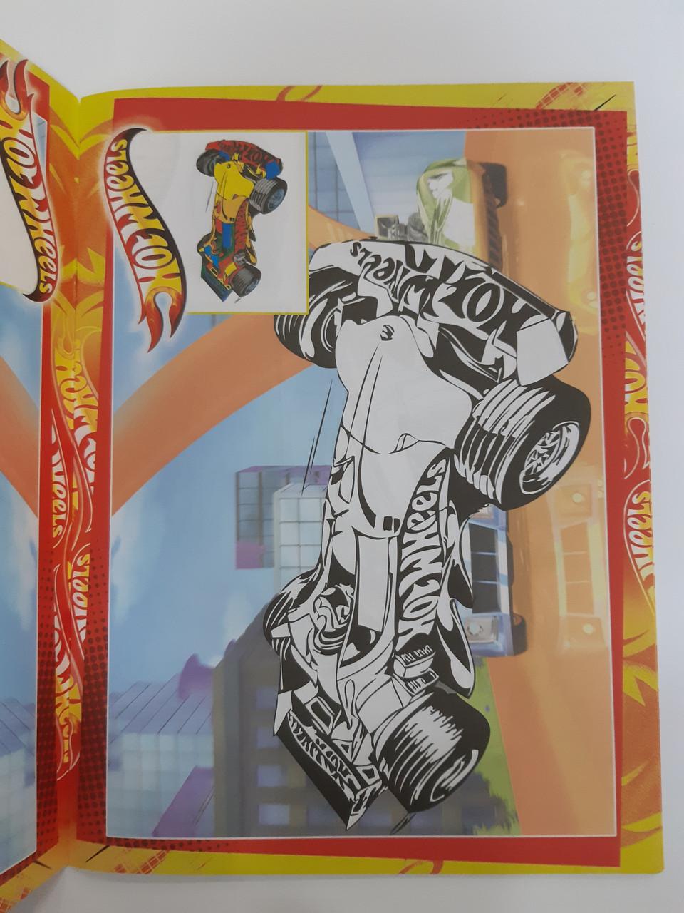 Колибри Раскраска Р-30: 126 наклеек/хот вилс: продажа ...