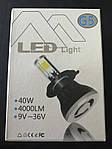 Энерго-экономная лампа G5 LED H4 (40W 4000LM), фото 4