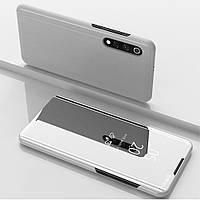 Чехол Mirror для Samsung Galaxy A30S / A307F книжка зеркальный Silver