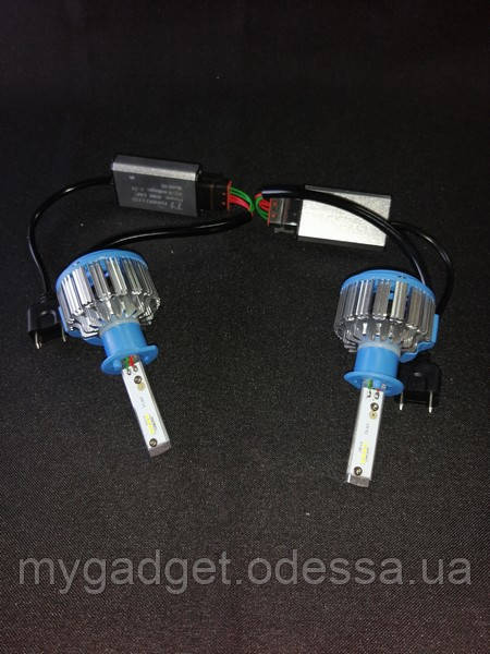 Автомобильная лампа LED T1 H1 35W