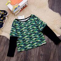 Реглан для мальчика крокодилы Five Stars KX0287-122p