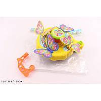 Каталочка 256 (72шт/2)бабочки, на палочке, в пакете 22*18*12см *