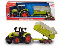 Трактор Dickie CLAAS с прицепом 57 см (3739000)