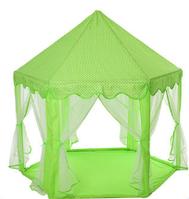 Детская игровая палатка. Три цвета. ДхШхВ-140-140-135 см. Материал: металл+текстиль. M 6113