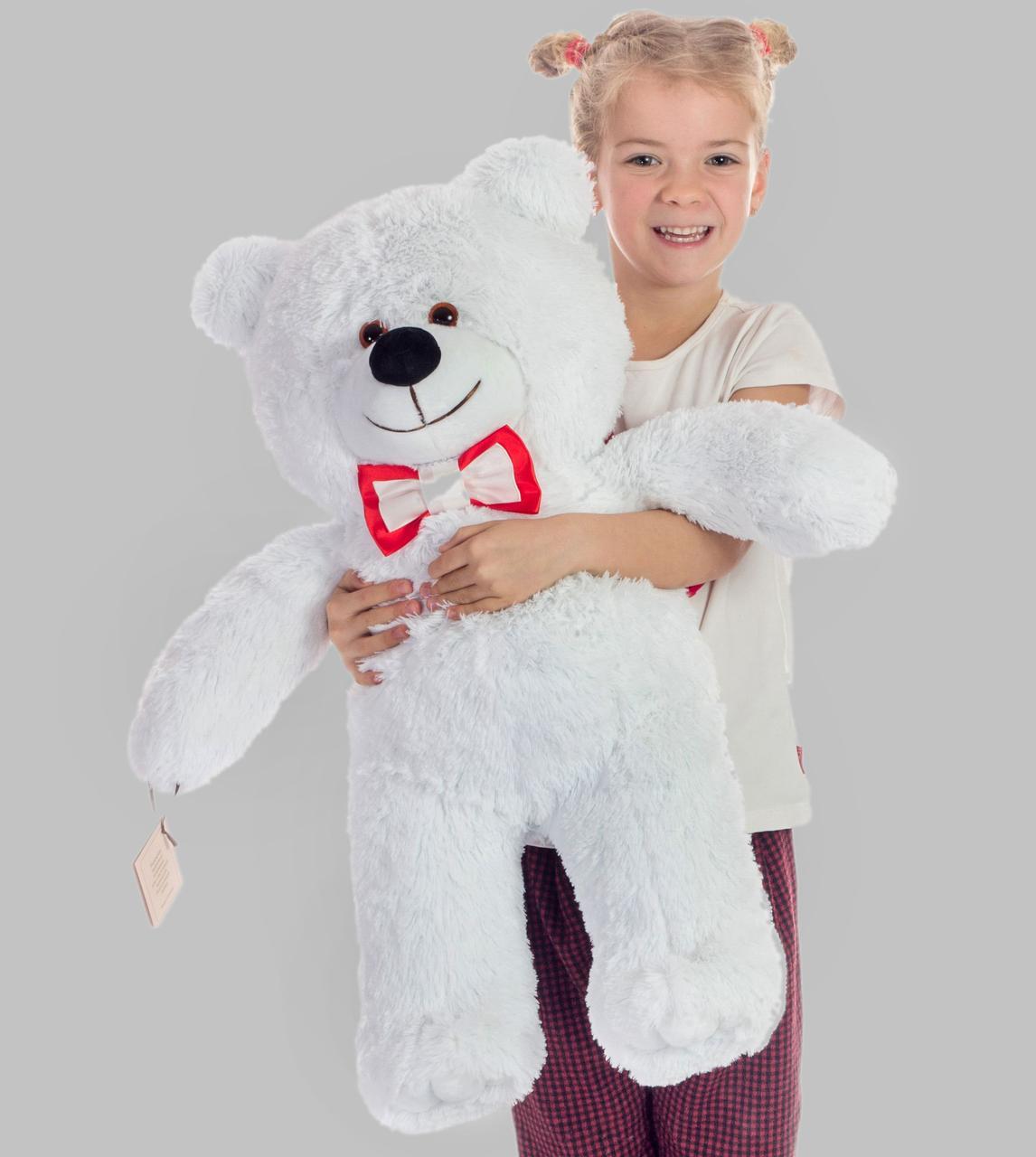 Плюшевый мишка Mister Medved Белый 85 см