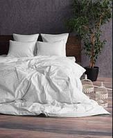 Комплект постельного белья евро страйп-сатин 100% хлопок, фото 1