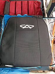 Чехлы на Чери Тиго FL 2012 / автомобильные чехлы Chery Tiggo (стандарт)