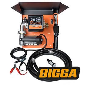 Bigga Gamma DC/AC-65 - Мобильная заправочная станция для диз.топлива с расходомером, 12/24/220 В, 45/65 л/мин