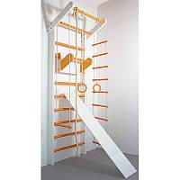 Шведська стінка Сосна біло-помаранчевий (повний), фото 1