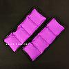 """Утяжелители для рук и ног """"HF ЭЛИТ"""" фиолетовый 5.0 кг (2 шт по 2.5 кг), фото 3"""