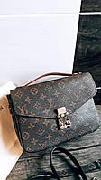Сумка луи витон через плечо женская Louis Vuitton Pochette Metis